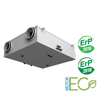 VENTS VUE P3B EC air handling units with heat recovery