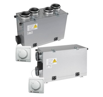 VENTS VUT mini air handling units with heat recovery