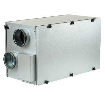 VENTS VUT H with EC motor air handling units with heat recovery