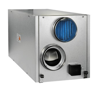 VENTS VUT EH and VENTS VUT WH air handling units with heat recovery