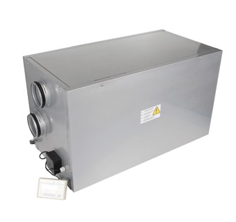VENTS VUT EH and VENTS VUT WH with EC motor air handling units with heat recovery