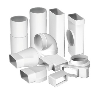 Ventilation ducts and fittings