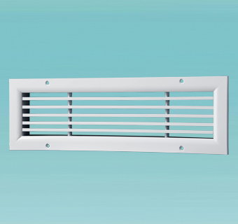 ONL series ventilation grille with fixed vanes