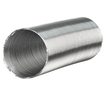 Non-insulated air ducts Aluvent series