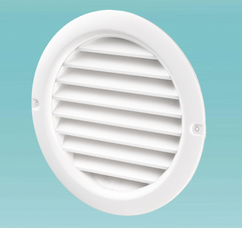 Supply and exhaust round grilles MV 100 bV, MV 125 bV, MV 150 bV series