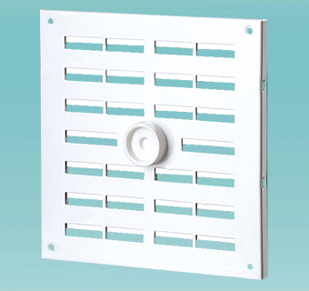 Supply and exhaust metal regulated grilles MVMPO…R series