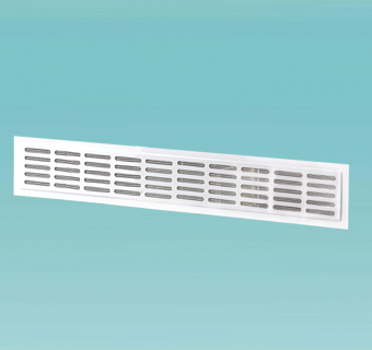 Supply and exhaust metal door grilles MVM series