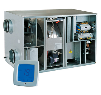 VENTS VUT R EH ЕС and VENTS VUT R WH ЕС air handling units with heat recovery