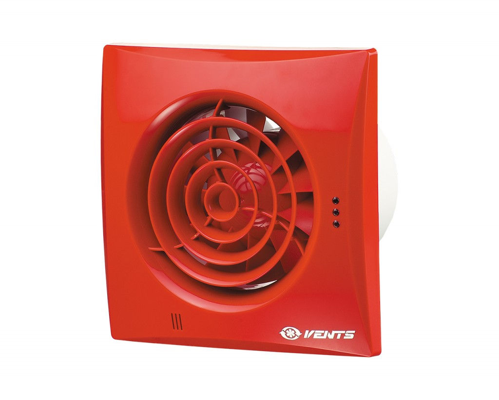 VENTS 100/125/150 Quiet Red RAL 3013