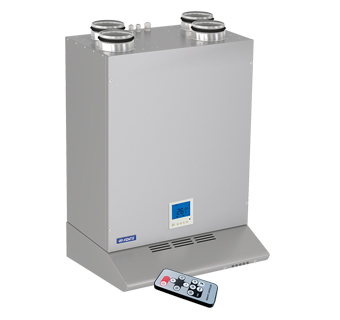 VENTS VUT EVK mini EC air handling units with heat recovery