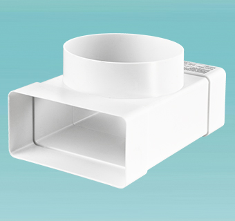 T-joint for flat and round ducts