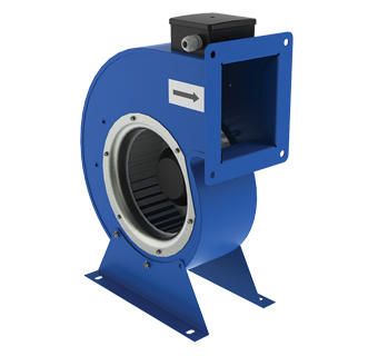 Centrifugal fan in scroll casing VENTS VCU series