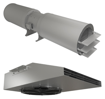Smoke extraction ventilation for parking premises