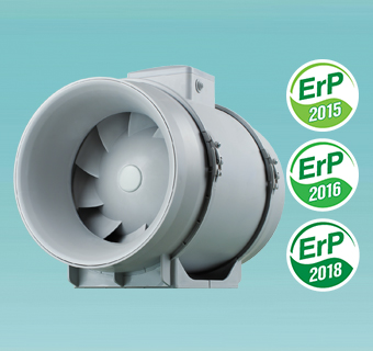 Inline mixed flow fan VENTS ТТ PRO EC series